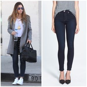 PAIGE JEANS Hoxton Ultra Skinny Ankle Mona Wash 27